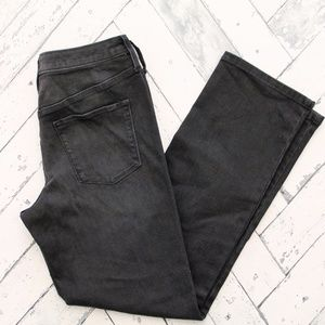 Mossimo Supply Co. Jeans - Mossimo Black High Rise Straight Jeans 520394